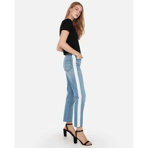 NWT Express Jeans Girlfriend High Rise Size 00 Wom